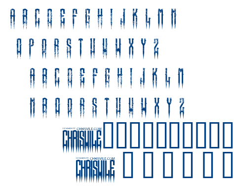 XSpiked font