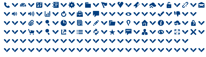 Breezi Icon Set font