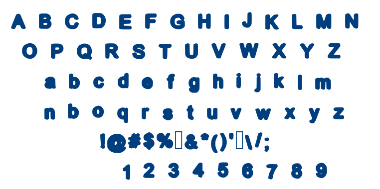 Cool Bold font