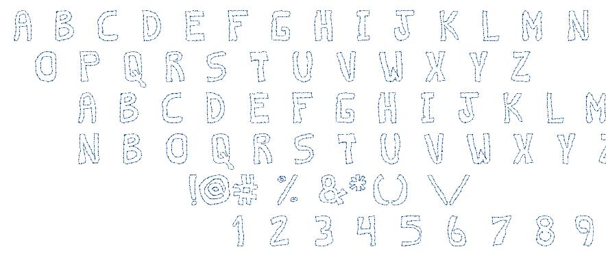 Discontinuo TFB font