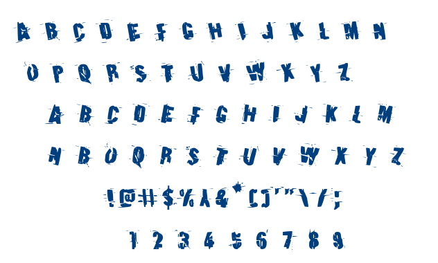 Earthshake font