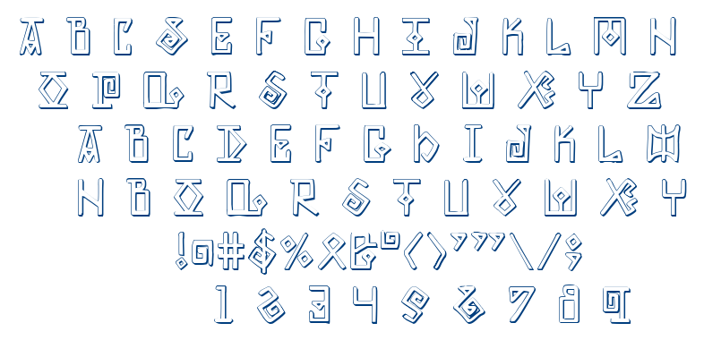 Elder Magic font