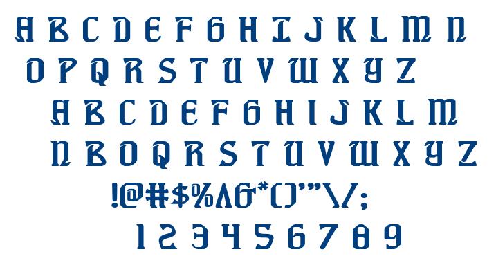 Fiddler's Cove font
