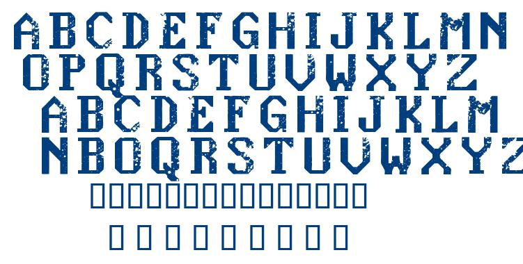Konquer font