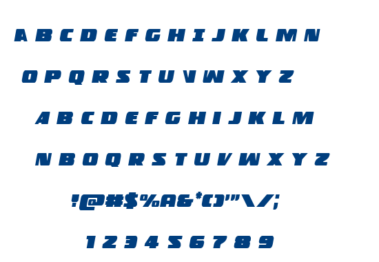 Police Cruiser font