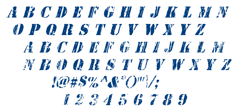Wetworks font