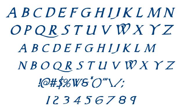 Woodgod font