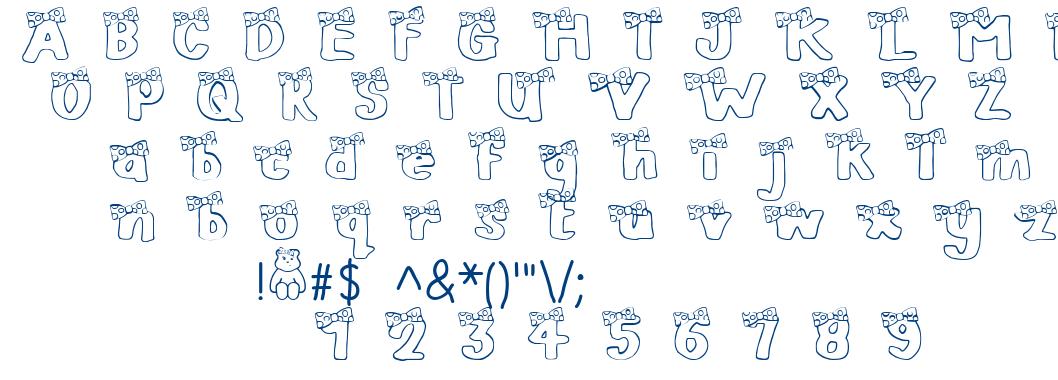 Blush Bear font