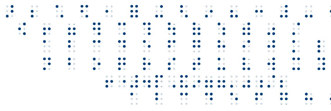 Braille AOE font