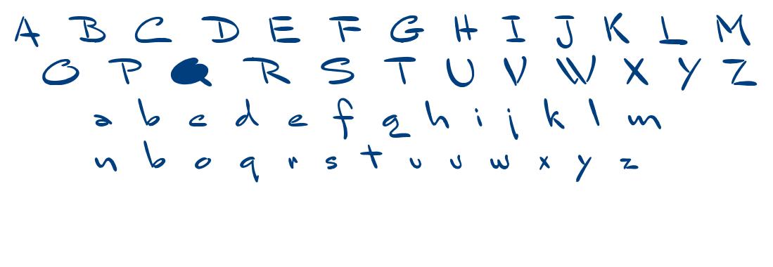 Bluelmin Sandsfort font
