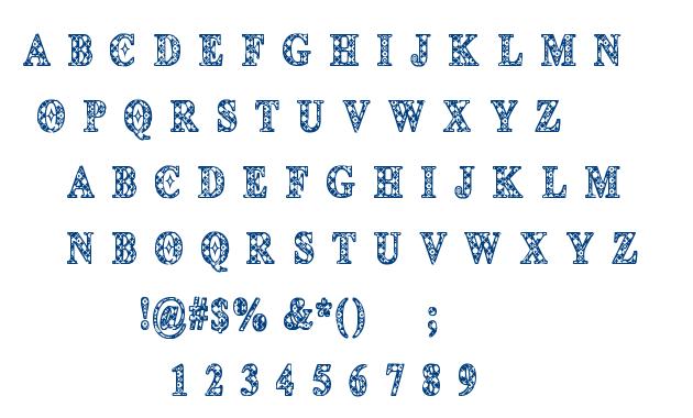 CF Deco 1492 font