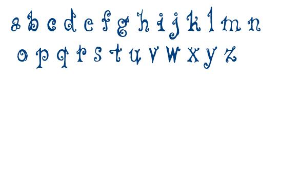 CF Fredo Style font