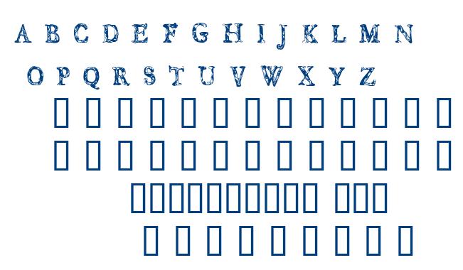 CF Jungle font