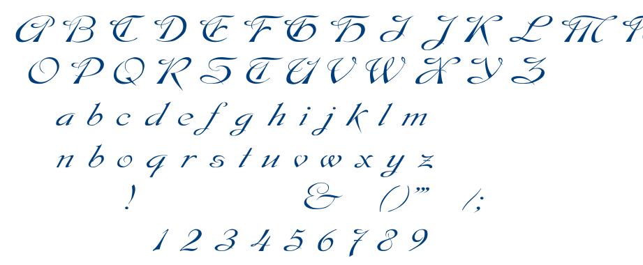 Dobkin Wd font
