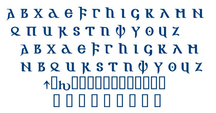 Gotic Aoe font