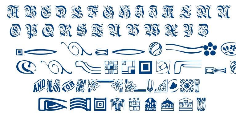 Griffin font