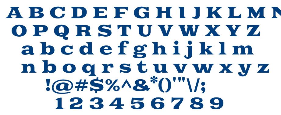 Goblin One font