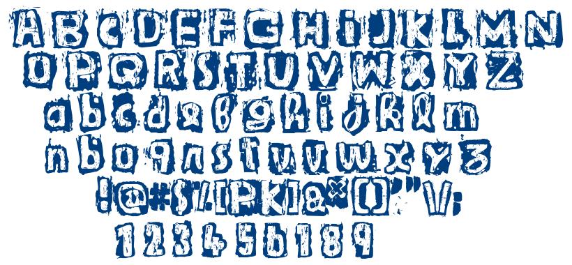 Guignol's Band font