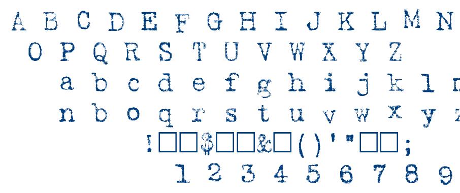 Harting font