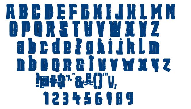 Jeremiah font