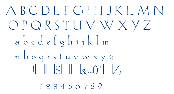 Lilith font
