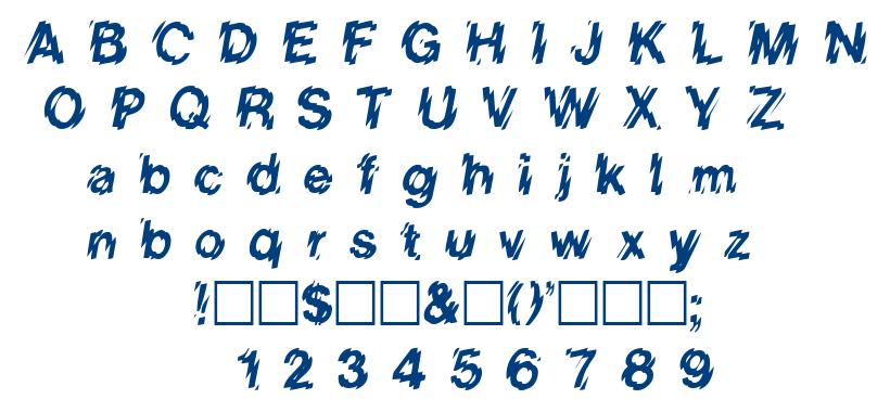Low We font