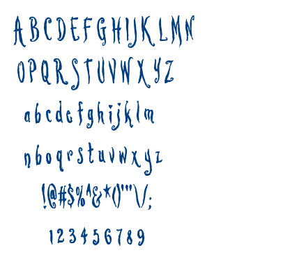 Lovesick AOE font