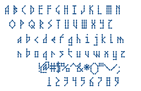 Microbe AOE font