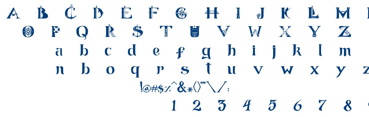 ManicSea font