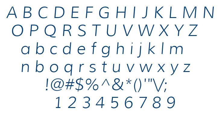 Muli font