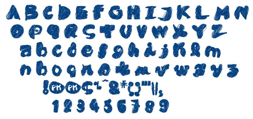 Pk Cobra font
