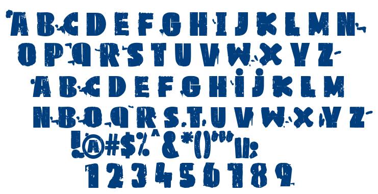 pk LSD font