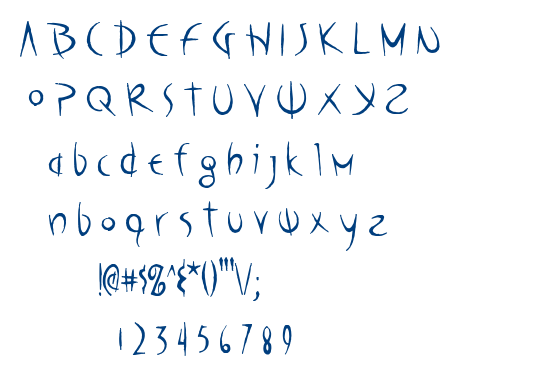 Poseidon AOE font