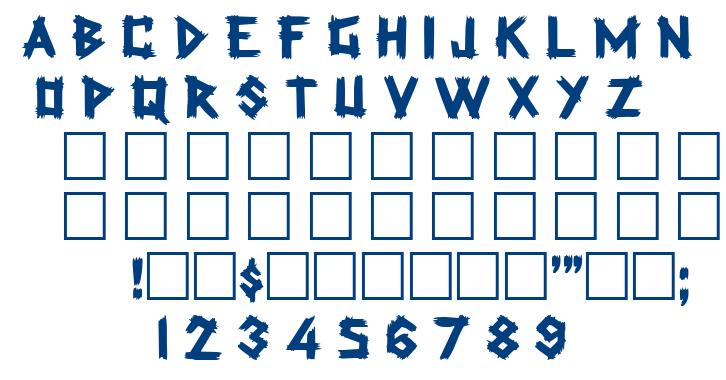 Rockmaker font