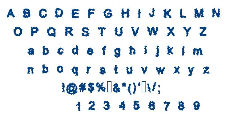 Shanshar font