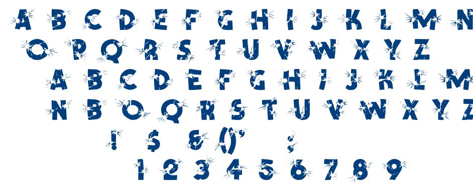 Shotling font