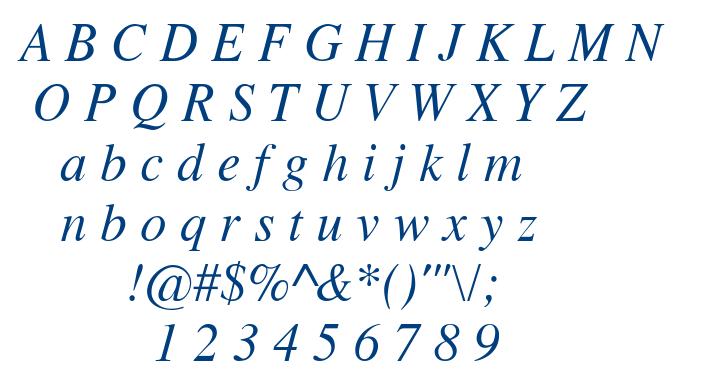 Tempo Font font