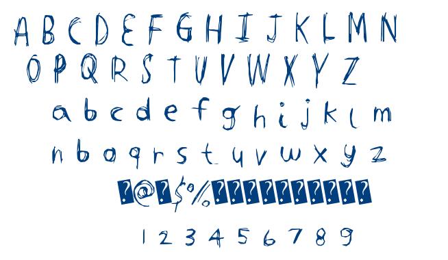 Tight Carve font