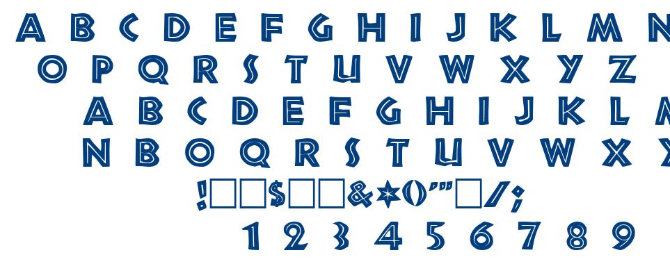 Tribeca font