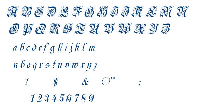 Uechi font