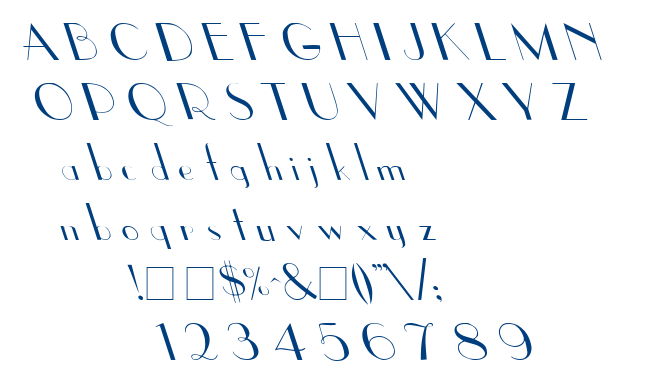 Upp Ea Leftys font