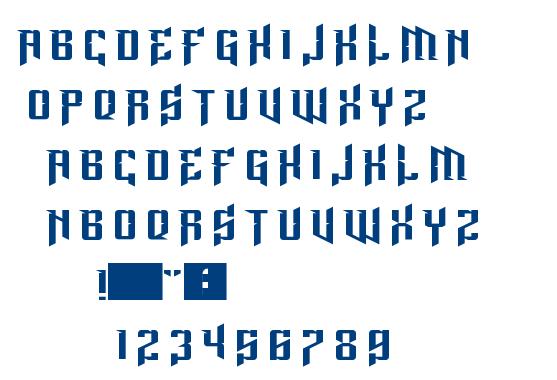 Lord Juusai Rises font