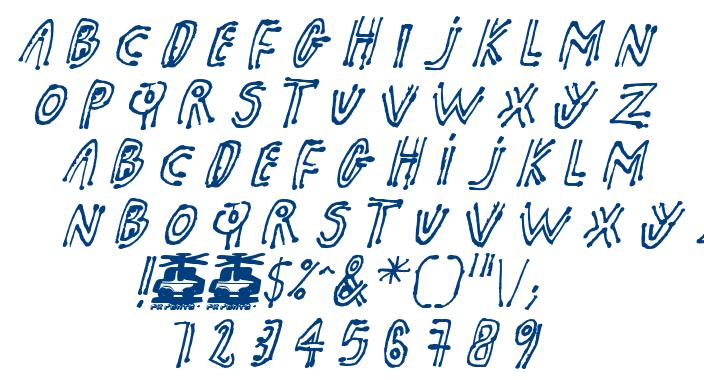 PK Shaman font