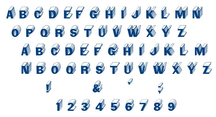 Salter font