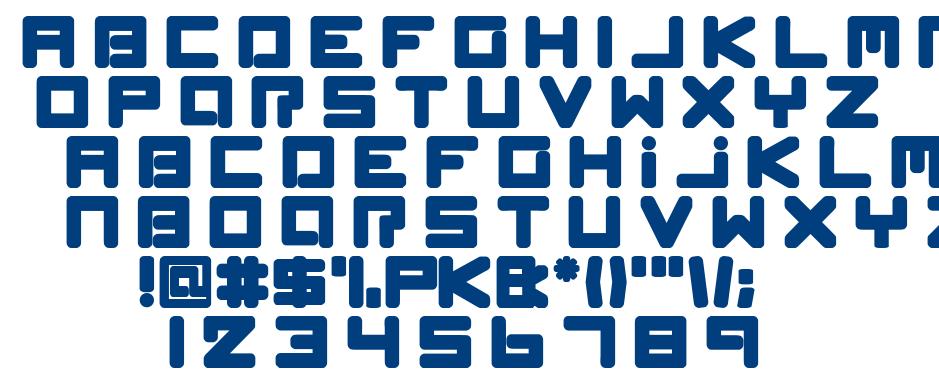 Spleen Machine font