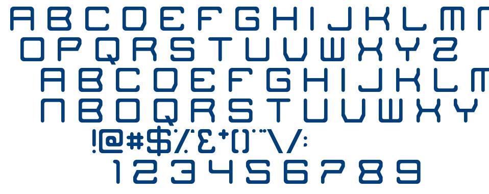 The Missing Link font