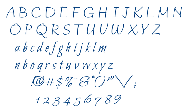 Bilbo font