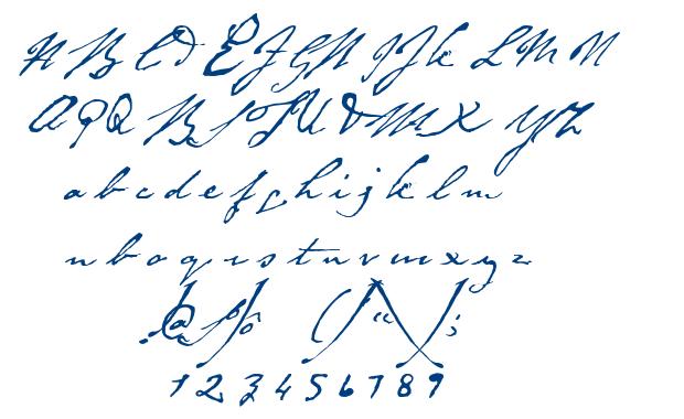 Byron font