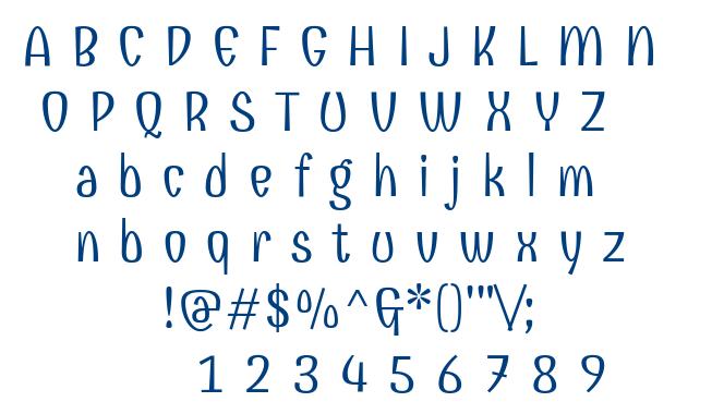 Combo font
