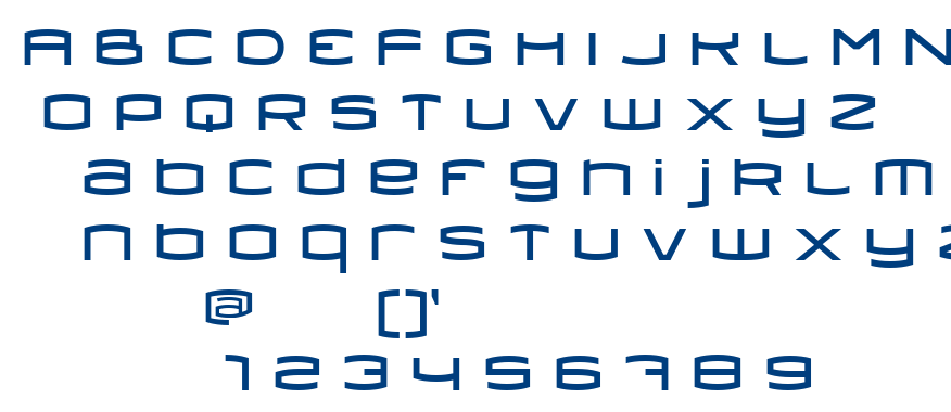 Dollis font